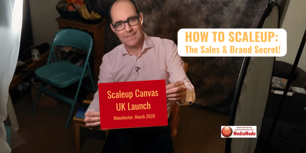 How to Scaleup: sales & branding secret